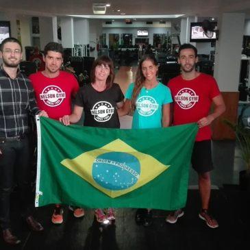 Eduardo Monteiro (Presidente/APEB) e Equipe Nelson Gym